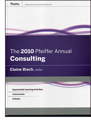 The 2010 Pfeiffer Annual Consulting